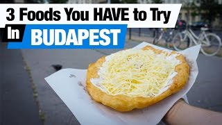 Download Hungarian Food - 3 Foods To Try in Budapest! (Americans Try Hungarian Food) Video
