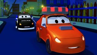 Download The Car Patrol: fire truck and police car 🚓 in Amber's siren is stolen in Car City 🚒 Trucks Cartoons Video