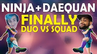 Download NINJA & DAEQUAN FINALLY DUO | HIGH KILL CRAZY GAME | THOUGHTS ON PATCHES - (Fortnite Battle Royale) Video