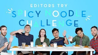 Download HiHo Editors Try the Spicy Noodle Challenge   Editors Try   HiHo Kids Video
