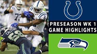 Download Colts vs. Seahawks Highlights | NFL 2018 Preseason Week 1 Video