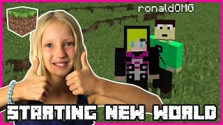 Download Starting A New World   Minecraft Video