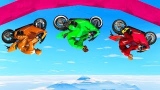 Download WORLD'S HARDEST GRAVITY SKILL TEST! (GTA 5 Races) Video