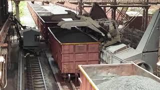 Download Wagon tippler operation at Jindal Steel, Tornagallu, Karnataka. Video