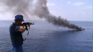 Download Russian Navy vs Somalia pirates Video