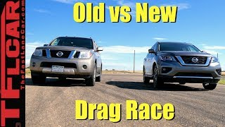 Download Old vs New Pathfinder Drag Race: We Didn't See This Coming! Video