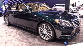 Download 2017 Mercedes Benz S Class S 550 Sedan - Exterior and Interior Walkaround - 2017 Chicago Auto Show Video