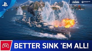 Download World of Warships: Legends - What? Trailer   PS4 Video