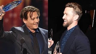 Download From Justin Timberlake to Johnny Depp: The Biggest 2017 People's Choice Awards Moments Video
