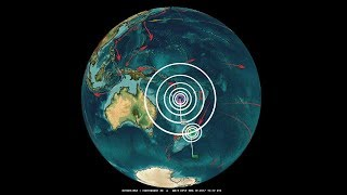 Download 11/19/2017 - Large M7.0 (M6.9) Earthquake strikes West Pacific - New week of global unrest coming Video