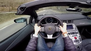 Download POV Drive: Lamborghini Aventador Roadster LP700-4 Video