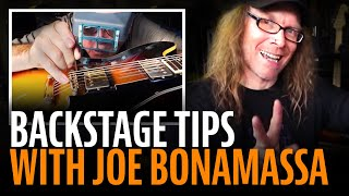 Download Joe Bonamassa sound check: backstage tips Video