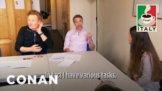Download Conan & Jordan's Italian Language Lesson - CONAN on TBS Video