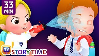 Download Cussly Learns To Save Water + Many More ChuChu TV Good Habits Bedtime Stories For Kids Video