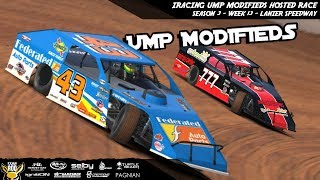 Download iRacing - UMP Modifieds Hosted Race Week 13 - @ Lanier Speedway Video