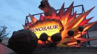 Download Dinosaur Ride Front Row (HD POV) Nightvision Disney's Animal Kingdom Walt Disney World Video