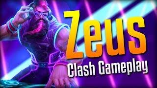 Download Smite: INSANE COMEBACK!- DJ Zeus Clash Gameplay Video