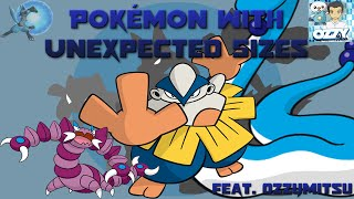 Download Pokémon with Unexpected Sizes (Feat. Ozzymitsu) Video