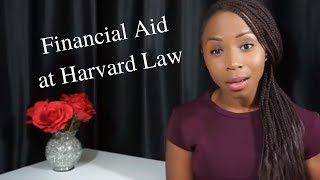 Download Financial Aid at Harvard Law School Video