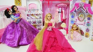 Download Rapunzel Snow White Princess Bedroom Morning Routine New Jewelry Accessory Video