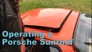 Download Operating a Porsche 924/944 Sunroof Video