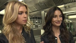 Download Victoria's Secret Angels Lily Aldridge and Stella Maxwell Reveal Their Pre-Fashion Show Diets Video