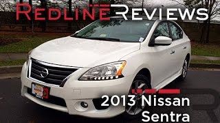 Download 2013 Nissan Sentra Review, Walkaround, Exhaust, & Test Drive Video