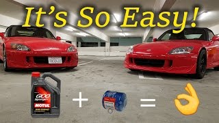 Download Changing the Oil On My S2000 Video