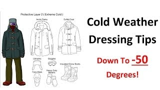 Download Cold Weather Dressing Tips - Base Layer Insulating Layers - Extreme Arctic Clothing Video