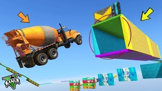 Download GTA 5 ONLINE 🐷 SALTO NEL TUNNEL !!! 🐷 GARE PARKOUR 🐷N*247🐷 GTA 5 ITA 🐷 DAJE !!! Video