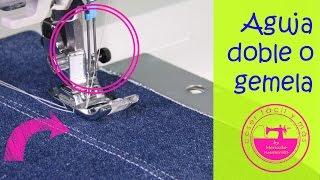 Download Cómo coser con una aguja doble o gemela y para qué sirve Video