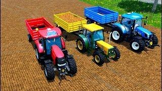Download Tractorul pentru copii cu tractoare pentru copii 🚜 5 Serie Video