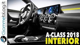Download 2018 New Mercedes A-Class INTERIOR Video