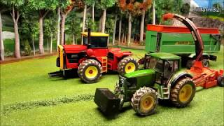 Download RC TOY ACTION - Rc Tractors at HARVEST ON THE FARM Video