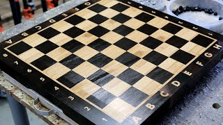 Download Making a ″Chess″ end grain cutting board Video