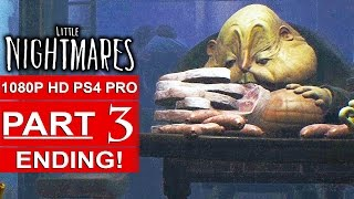 Download LITTLE NIGHTMARES ENDING Gameplay Walkthrough Part 3 [1080p HD PS4 PRO] - No Commentary Video
