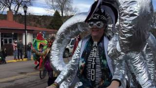 Download Mardi Gras moments in Manitou Springs Video