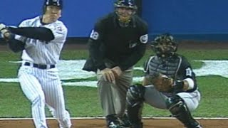 Download 2003 WS Gm2: Hideki Matsui blasts three-run home run Video