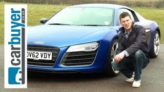 Download Audi R8 coupe 2013 review - CarBuyer Video