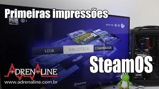 Download Veja o SteamOS, novo sistema da Valve especializado em games Video