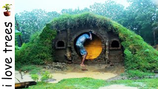 Download Hobit house I primitive I Recycle material Video