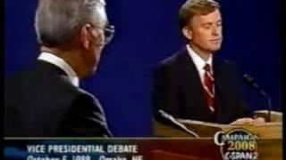 Download ″Senator, you're no Jack Kennedy″ ('88 VP Debate) Video