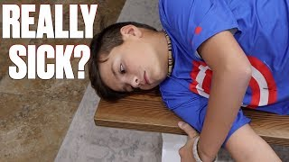 Download GETTING CHECKED OUT OF SCHOOL SICK | HE BETTER NOT BE FAKING SICK TO SKIP SCHOOL! Video