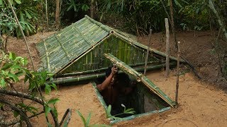 Download Building The Most Underground Bamboo House By Ancient Skill Video