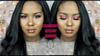 Download Soft Cranberry Holiday Makeup Video