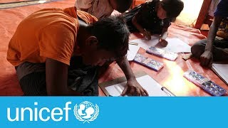Download Heartbreak to hope: The drawings of a Rohingya refugee boy | UNICEF Video