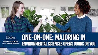 Download One on One: Victoria and Andrea Think Majoring in Environmental Sciences Opens Opportunities for You Video