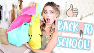 Download BACK TO SCHOOL CLOTHING HAUL 2017! Video