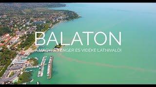 Download BALATON - a magyar tenger és vidéke látnivalói  DRONE VIDEOS #02  Video