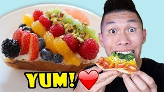 Download RAINBOW COLORED FOODS: Tasty DIY || Life After College: Ep. 580 Video